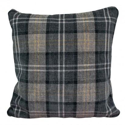 Scatter Cushion in a Lana Granite Plaid Tartan Fabric
