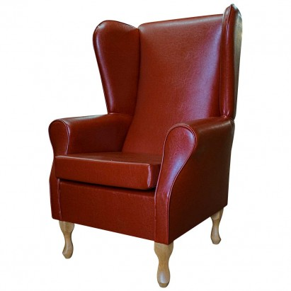 Large Highback Westoe Chair in a Denver Smooth Tan...