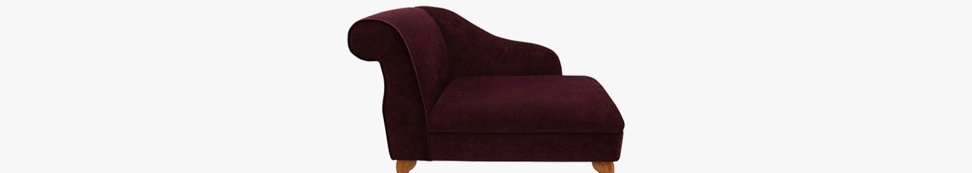 "Standard 36"" Chaise Longues Handmade 