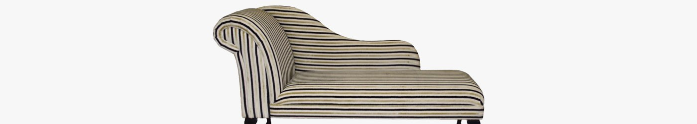 """60"""" Chaise Longues Handmade 