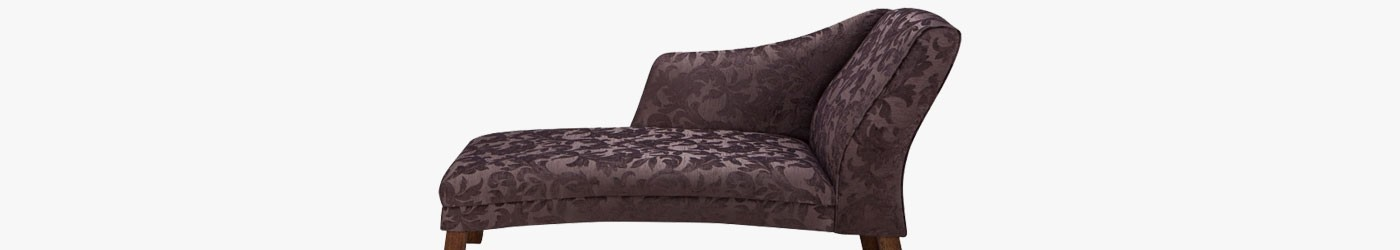 "62"" Curved Chaise Longue"
